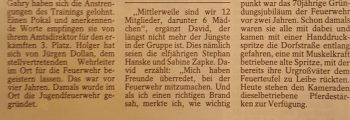 Amtsausscheid 1996